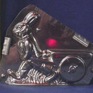 BUNNY PULLING CART CHOCOLATE MOLD