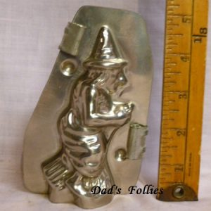 witch chocolate mold