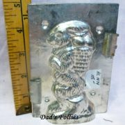 bunny with eggs chocolate mold