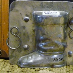 boot chocolate mold