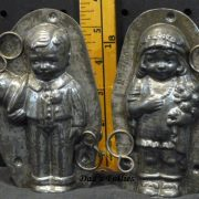 Anton Reiche Bride and Groom metal Mold