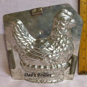 hen chocolate mold
