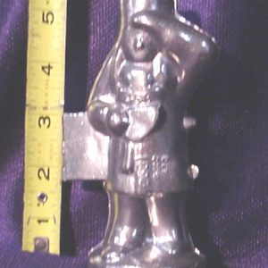pewter ice cream mold Indian