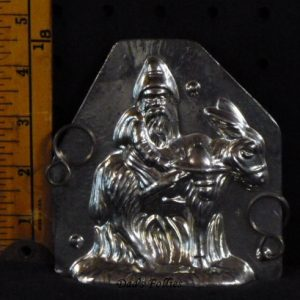 Old world Santa on Burro mold
