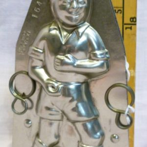 Soccer Player Chocolate mold