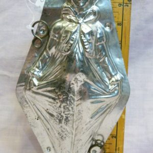 Clown old metal mold