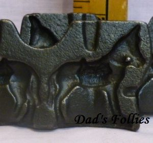hand candy clear toy donkey mold