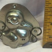 antique chocolate mold duck