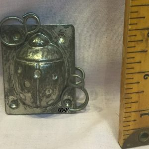old antique chocolate mold lady bug for sale