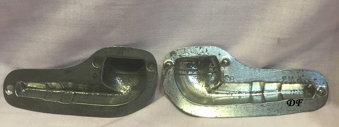 antique old chocolate mold pipe