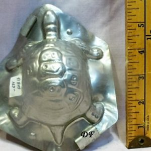 old metal vintage antique chocolate mold for sale unique gift turtle