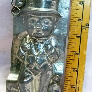 old metal vintage antique chocolate mold for sale unique gift bridal best man