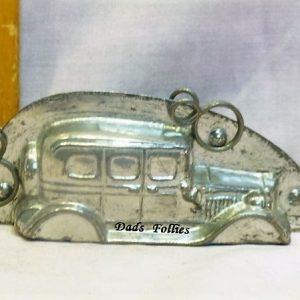 old metal vintage antique chocolate mold for sale