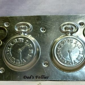 antique vintage old chocolate mold watch for sale