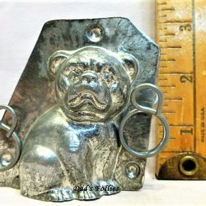 old antique metal vintage chocolate mold for sale