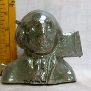 old antique vintage pewter ice cream mold for sale washington