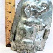 old antique metal vintage chocolate mold for sale elephant