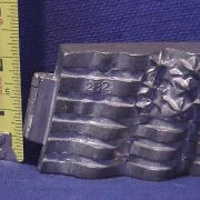 american flag pewter ice cream mold