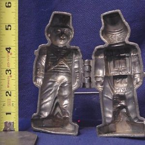 pewter ice cream mold National Guardsman