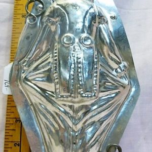 old antique metal vintage chocolate mold for sale unique gift clown