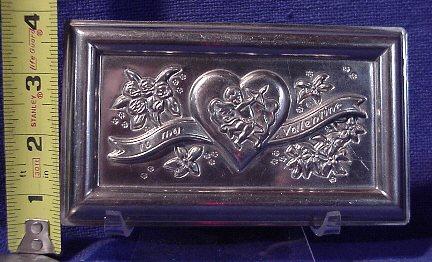 valentine chocolate mold