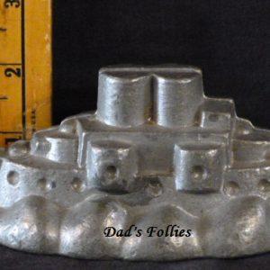 ice cream mold battleship