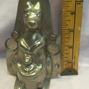 Antique old chocolate mold kangaroo Holland
