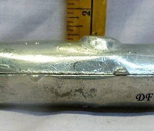 old antique vintage pewter ice cream mold for sale Holiday