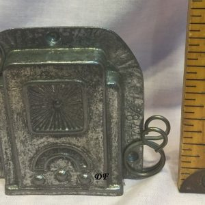 old metal radio vintage antique chocolate mold for sale