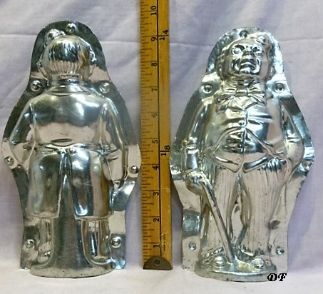 old metal vintage antique chocolate mold for sale unique gift