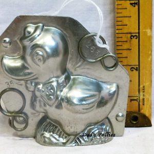 old metal vintage antique chocolate mold mould for sale