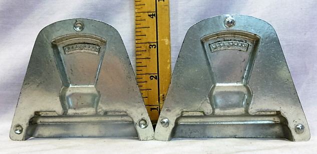 antique old metal vintage chocolate mold for sale unique