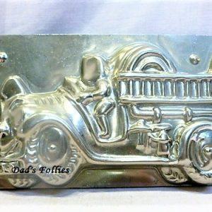 old antique metal vintage chocolate mold for sale