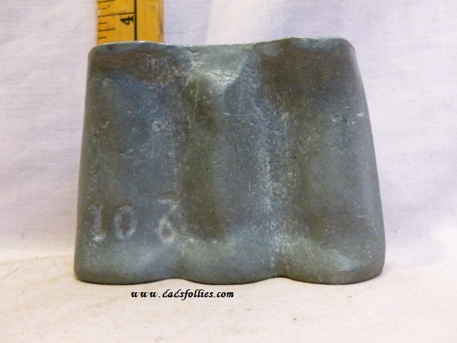 old antique metal vintage chocolate mold for sale barley candy clear toy