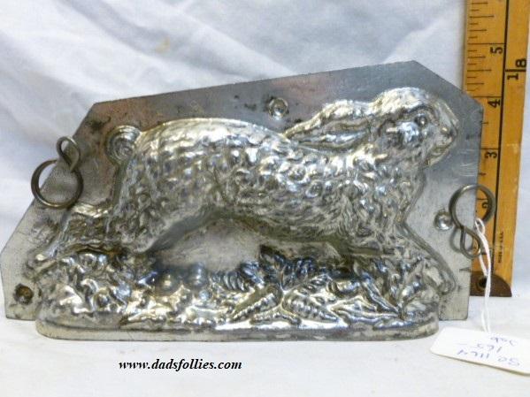 old metal vintage antique chocolate mold for sale unique
