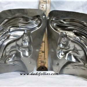 old metal vintage antique chocolate mold for sale unique squirrel