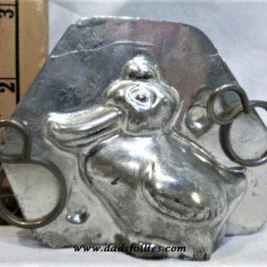 old metal vintage antique chocolate mold for sale unique duck