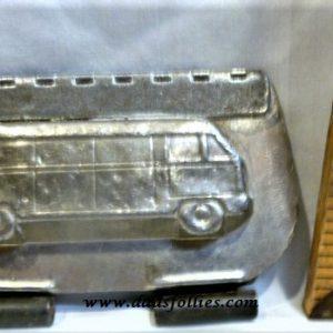 old metal vintage antique chocolate mold for sale car vw