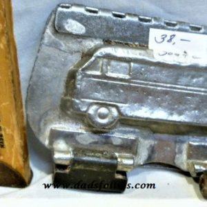 old metal vintage antique chocolate mold for sale car vw